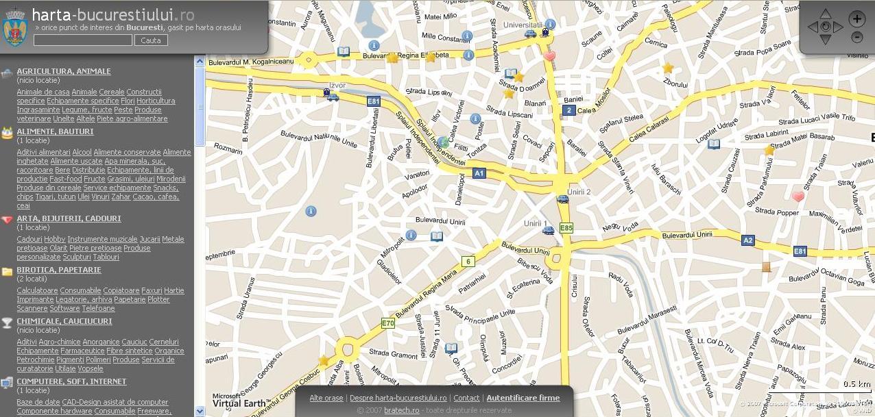 Harta Bucurestiului Romantic La Pas Prin Oras